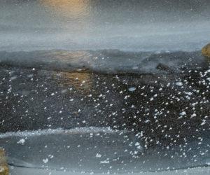 Stoję nad wodą – zima